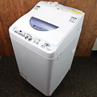 全自動洗濯機 シャープ 5.5K ES-TG55L-A 2015...