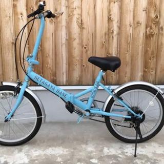 【世田谷ベース】特別塗装 折りたたみ変速付き自転車 所ジョージ