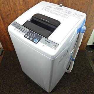 全自動洗濯機 ヒタチ 6.0K NW-6SY 2014年製  中...