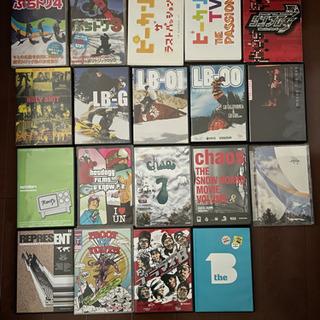 スノーボード DVD 19枚