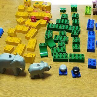 古い LEGO duplo レゴ デュプロサイズ 青バケツ