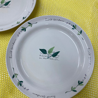 mino ceramic 大皿2枚 直径27.7