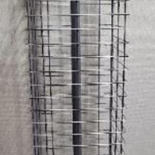 【ネット決済】4面回転 スチールネットラック フック付き 大サイ...