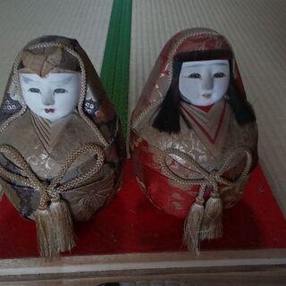 夫婦だるま 日本人形