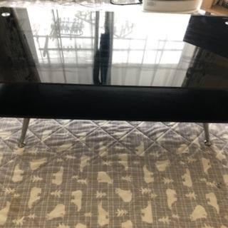 ガラステーブル(ブラック)