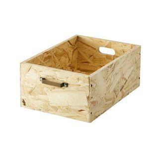 新品 BRUNO ウッドスタックボックスL LOW(収納 ボック...