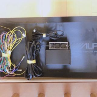 【ネット決済】ALPINE  SWE-2200  サブウーファー...