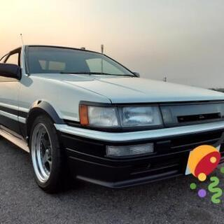 【ネット決済】トヨタレビンGTAPEX 1986年後期 AE86...