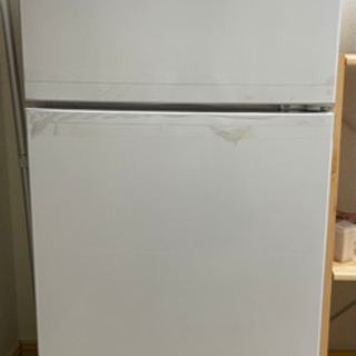 【美品】2020年製 2ドア冷凍/冷蔵庫 118L max…