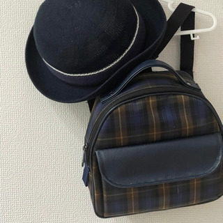 再値下 別所幼稚園 バッグ、帽子