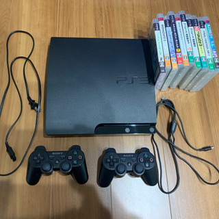 PS3 ソフト10本付 コントローラー2つ
