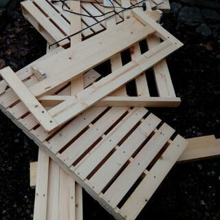 シングルベッドフレーム 簀の子式木製ベッド 株式会社ヒメプラ製