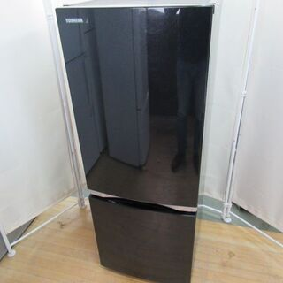 JAKN2198/冷蔵庫/2ドア/右開き/ブラック/東芝/TOS...