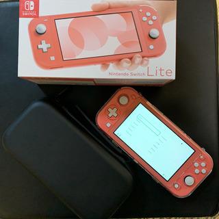 【タイムセール中】Nintendo Switch Lite + ソフト