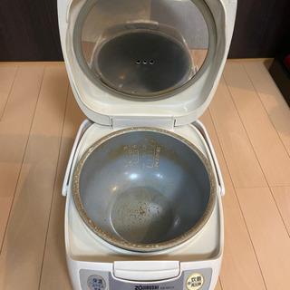 炊飯器(ZOJIRUSHI)はいかがですか?^ ^ ←値引…