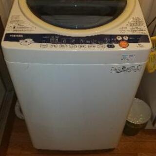 【ネット決済】洗濯機  TOSHIBA  6キロ対応