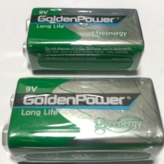 新品未使用🔋『Golden Power』の電池×2