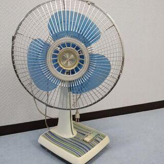 昭和レトロな扇風機