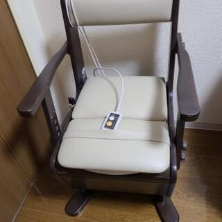 【ネット決済】値下げしました❗【新品未使用】家具調ポータルトイレ...