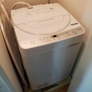 【4/28処分予定】SHARP 洗濯機 6kg(2017年…