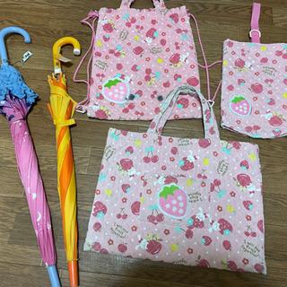 《予定者決定》学校グッズ③傘ピンク猫&置き傘 おまけ付きの画像