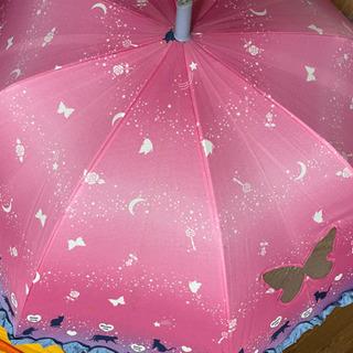 《予定者決定》学校グッズ③傘ピンク猫&置き傘 おまけ付き - 子供用品