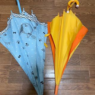 《予定者決定》学校グッズ④傘水色猫&置き傘 おまけ付き - 一宮市