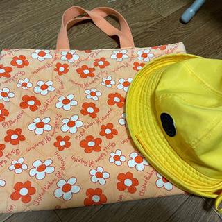 《予定者決定》学校グッズ⑦黄色い帽子&手提げ袋 - 子供用品