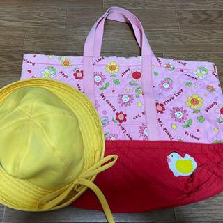 《予定者決定》学校グッズ⑦黄色い帽子&手提げ袋 - 一宮市