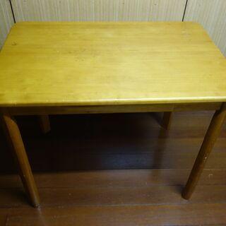 ダイニングテーブル(小型)木目