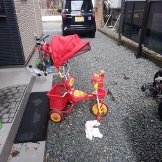 【ネット決済】アンパンマン三輪車