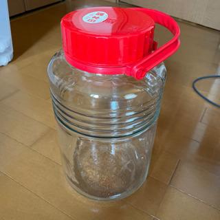 【未使用】ガラス 保存容器 梅酒 果実酒瓶 5L