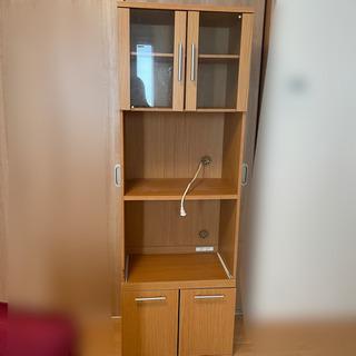 コンセント付き 食器棚