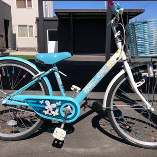 ブリヂストン 子供自転車 22インチ 水色