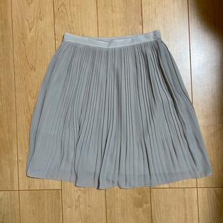 【差し上げます】ユニクロ シフォンプリーツスカートSサイズ
