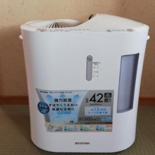 IRISオーヤマ、強力ハイブレッド加湿器SPK-1500
