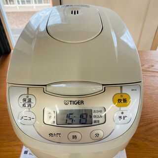 TIGER  炊飯器 5.5合 初期動作保証付き❕ R491