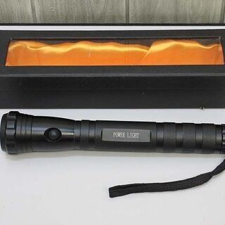 【未使用品】ss1460 懐中電灯 黒 LED ライト ス…