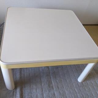 【値下げ交渉可】こたつテーブル+こたつ布団