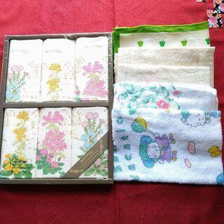 ふきん花柄など11枚/新品セット