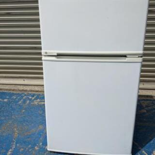 【ネット決済・配送可】2014年式 ユーイング 88L冷蔵庫