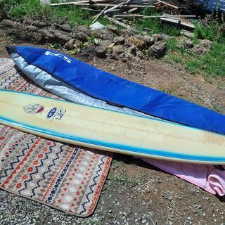 ロングサーフボード ケース付き サーフィン