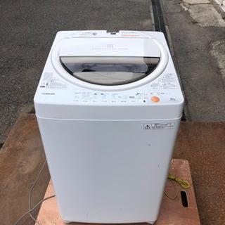 中古 東芝洗濯機6kg AW-60GL 2012製