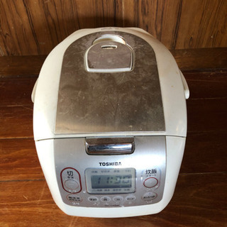 炊飯器 東芝  5合