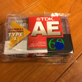 【TDK カセットテープ】