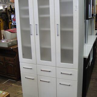 3ドアキッチンボード 食器棚 キッチン収納 家電ボード 食器収納