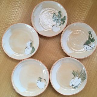 新品 たち吉 橘 陶器 和皿 5枚セット