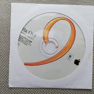 Mac OS9 (9.2.1)インストールディスク 正規品