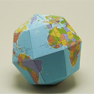 組立式地球儀 カラー版 未開封 おまけ付き