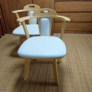 ヤフオク出品中 回転椅子/二脚